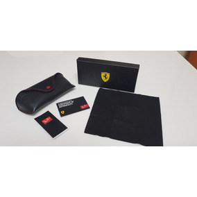 bd7bd118acc54 Case Para Óculos Ray-ban Linha Scuderia Ferrari Kit Original. R  120
