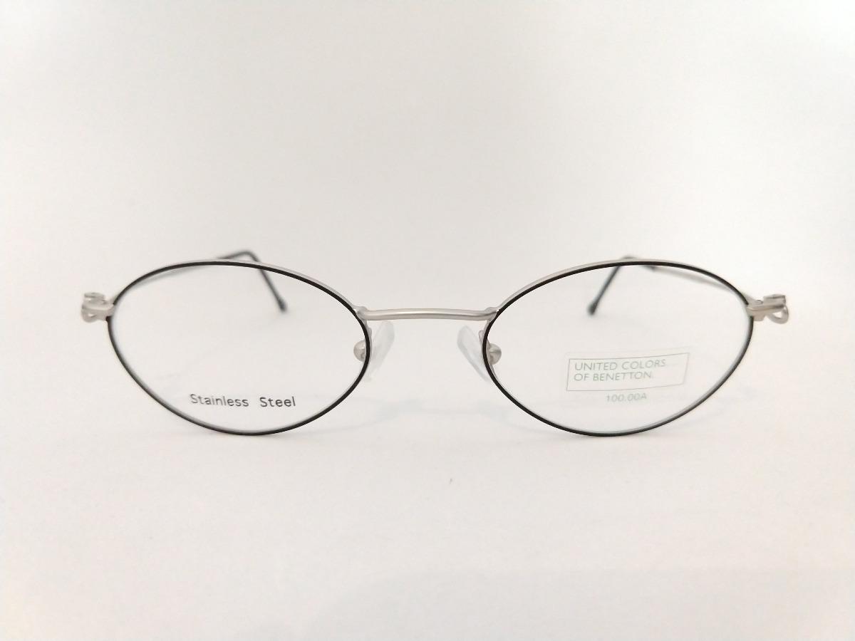 3d219ddcf armação oculos oval preto pequeno aço inox prata super leve. Carregando  zoom... armação oculos aço. Carregando zoom... oculos aço armação.  Carregando zoom.