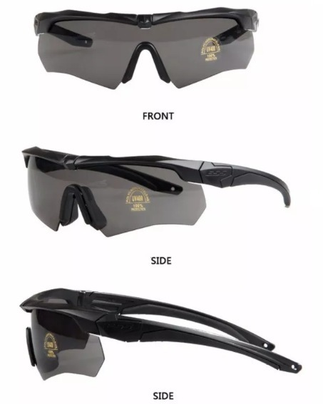 0e67a08d9 Óculos Airsoft Ess Crossbow Preto 3 Lentes + Frete Grátis - R$ 130 ...