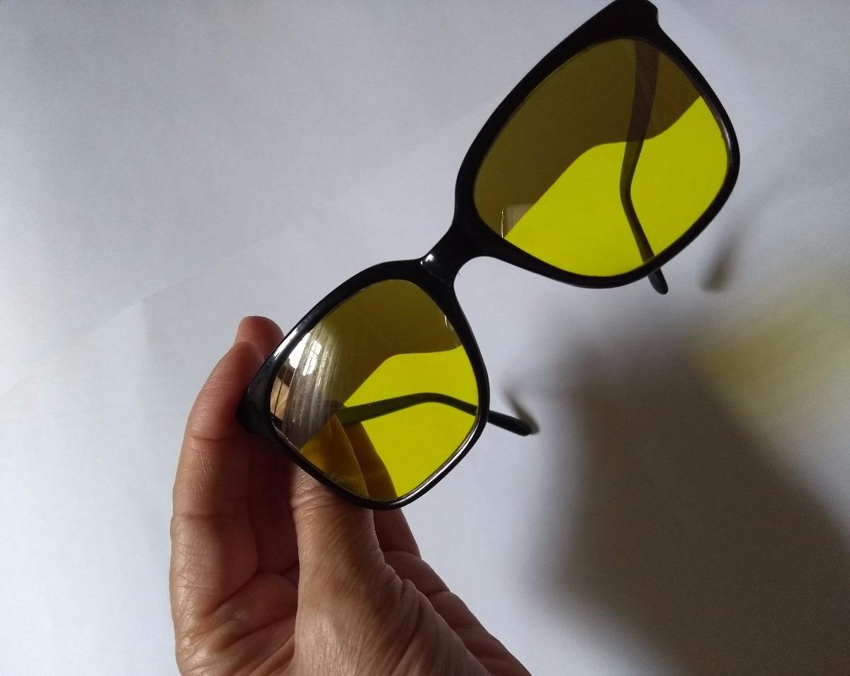 ac3dcfe60 óculos amarelo night drive- antigo marca brevete frances. Carregando zoom.