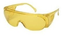 óculos amarelo - proteção sobre óculos de grau