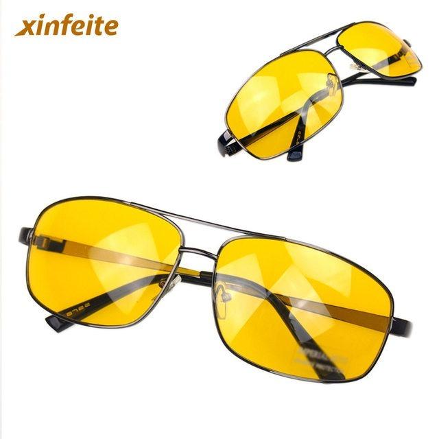 8ad172fae8db4 Óculos Amarelo Visão-noturna Dri-dirigir-noite-lente Amarela - R  25 ...
