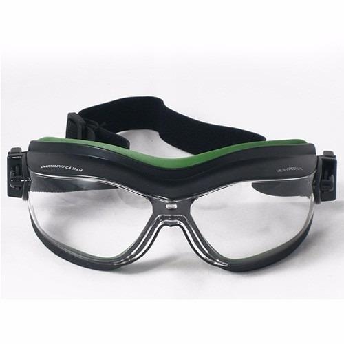 9fdf4e63b5374 Óculos Ampla Visão Helíx Incolor - Carbografite - R  26