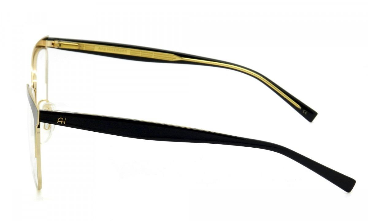 óculos ana hickm ah1348 09a - armação de óculos - lente 54mm. Carregando  zoom. e852e209e1