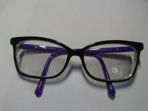 b30dc1f071e1e Promoção!!! Óculos De Grau Feminino Ana Hickmann - Seminovo - R  160 ...