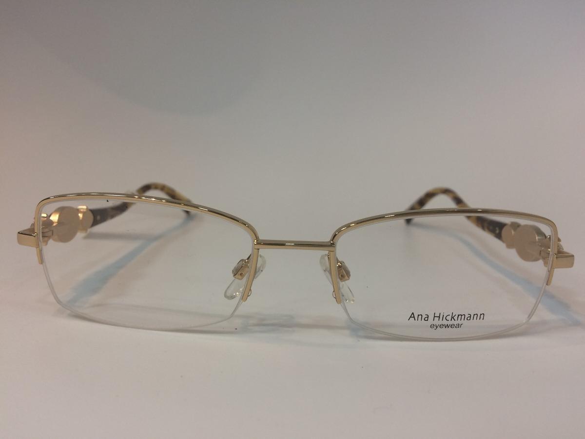 Óculos Ana Hickmann Ah1286 04a 52 18 135 - R  400,00 em Mercado Livre e2bcaf0a56