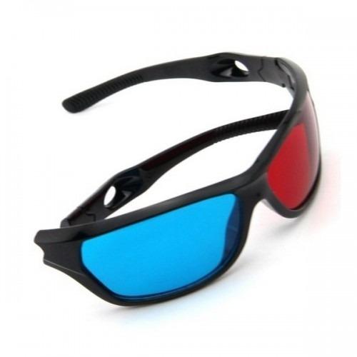 Óculos Anaglifo 3d Lentes Azul E Vermelha - R  12,00 em Mercado Livre 074d13235c