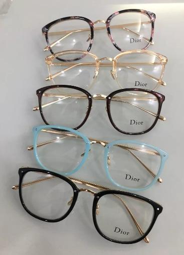 dfd1f2179a2 oculos armaçao de grau feminino dior geek promoção. 2 Fotos