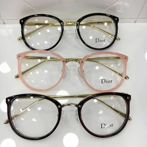 2695e403fb602 Oculos Armacao De Grau Feminino Redondo Geek Metal C  Brinde - R  58 ...