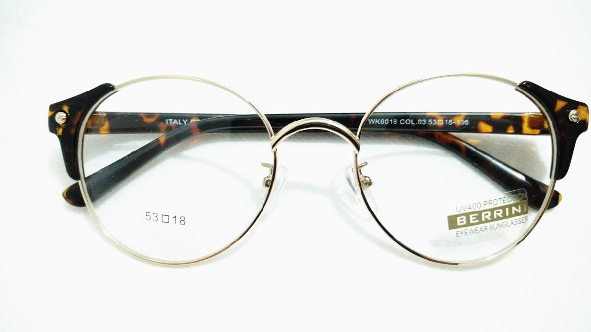13505c6cd Oculos Armacao Estilo Club Redondo Feminino Oferta Promocao - R$ 19 ...