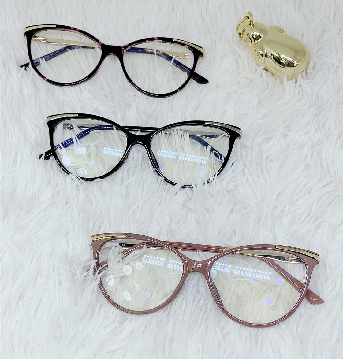9930fd4b51569 Oculos Armacao Feminino Quadrado Cor Variado - R  94