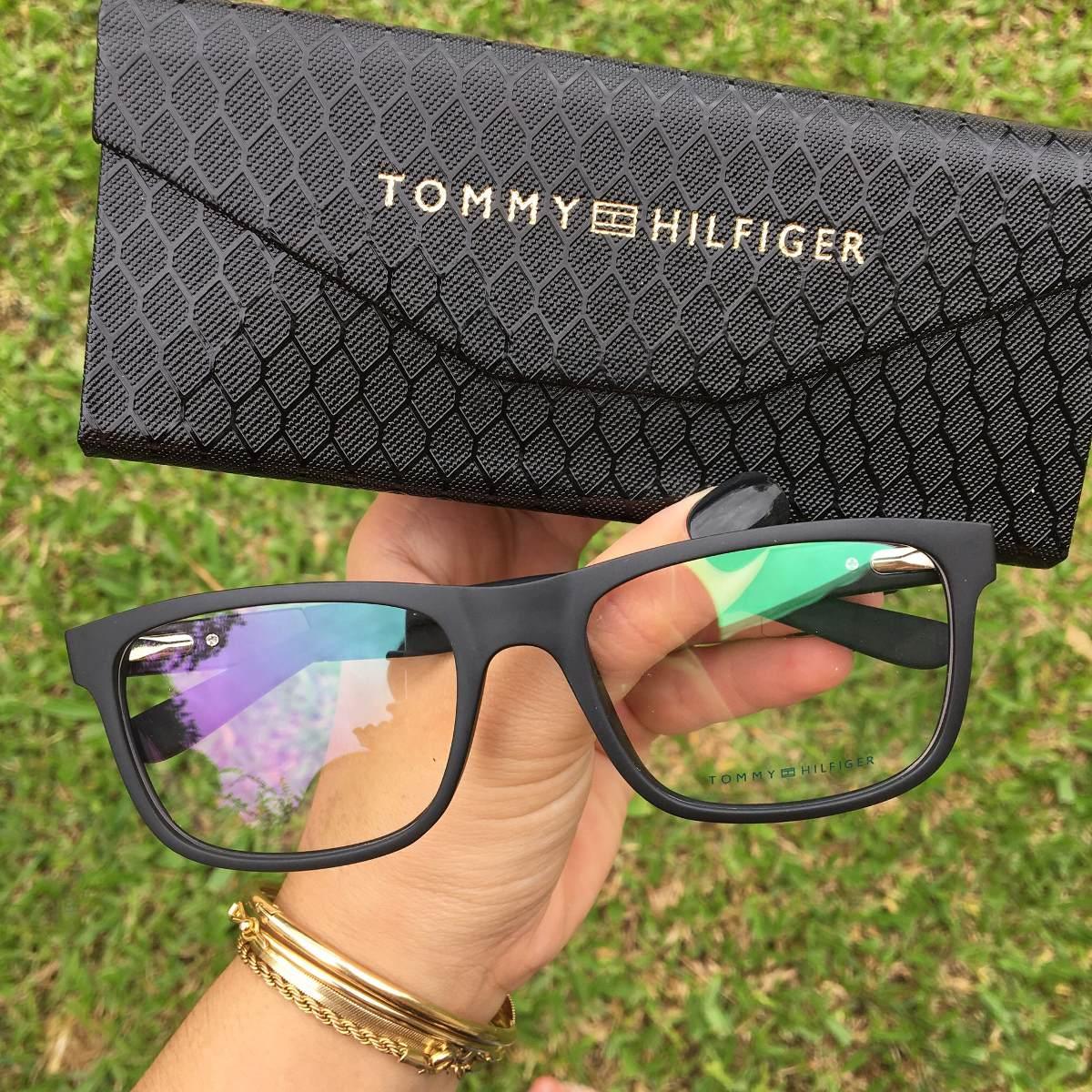 472c402ae19eb Oculos Armacao Grau Ray Ban Tommy Armani Nike - R  159,00 em Mercado ...