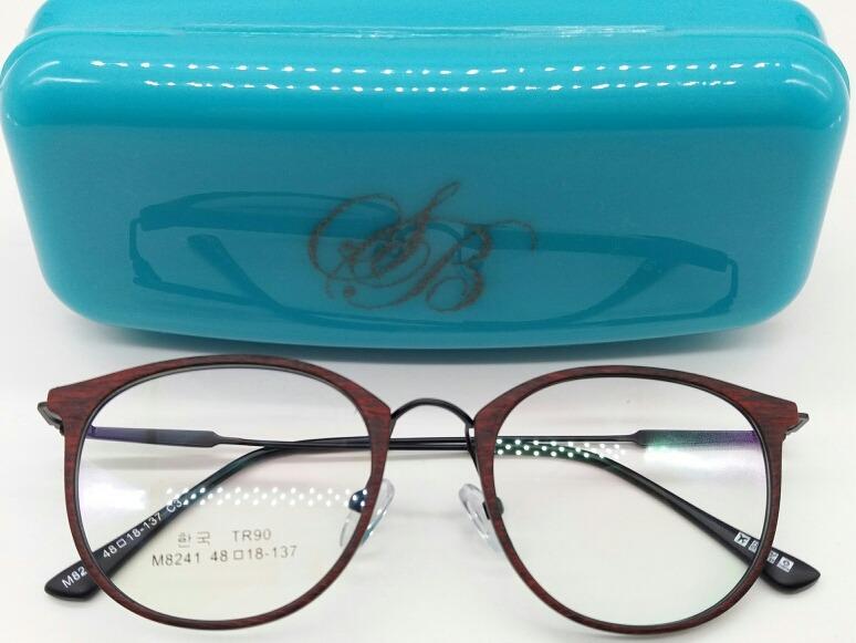 38d1944e986b6 Óculos Armacao Redondo Sem Graú Para Descanso Ou Look - R  49,00 em ...