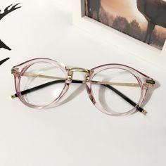 e3b446d72cb29 Óculos Armação Acetato Rose Feminino Redondo Metal + Brinde - R  59 ...