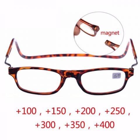 2f4ed96f103b5 Óculos Armação Clic Com Imã   Frete Grátis - R  78,90 em Mercado Livre
