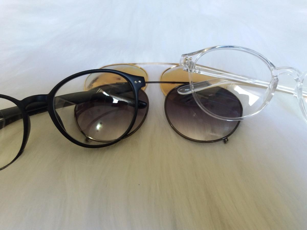 e80ccdf572464 óculos armação de grau acetato 2 em 1 clip on. Carregando zoom.