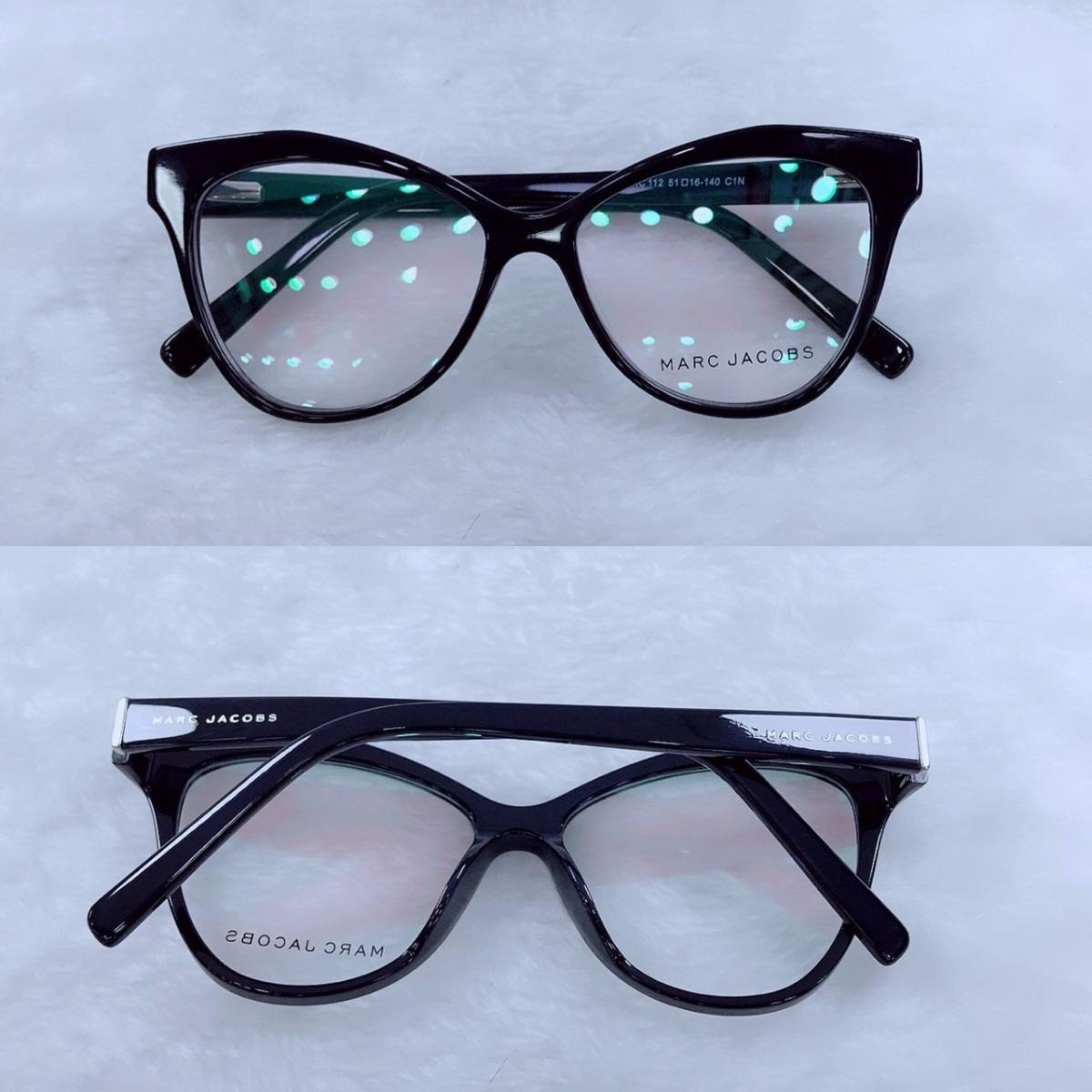 bfd3c41ca8266 óculos armação de grau estilo gatinho acetato fem. + brinde. Carregando zoom .