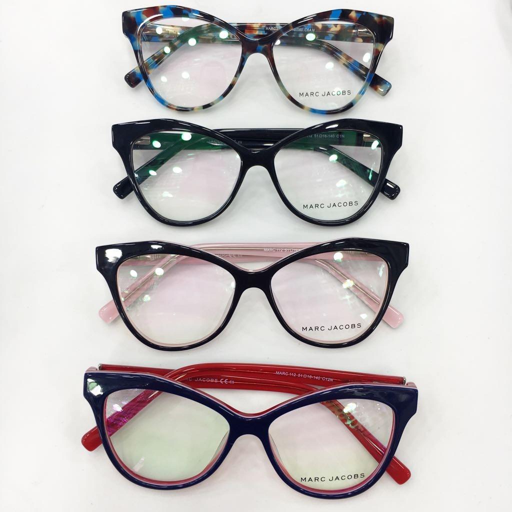 Óculos Armação De Grau Estilo Gatinho Acetato Fem. + Brinde - R  120 ... f773a30c49