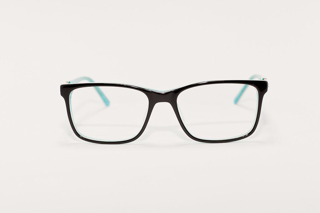 45fc07d11 óculos armação de grau feminino acetato preto e verde água. Carregando zoom.