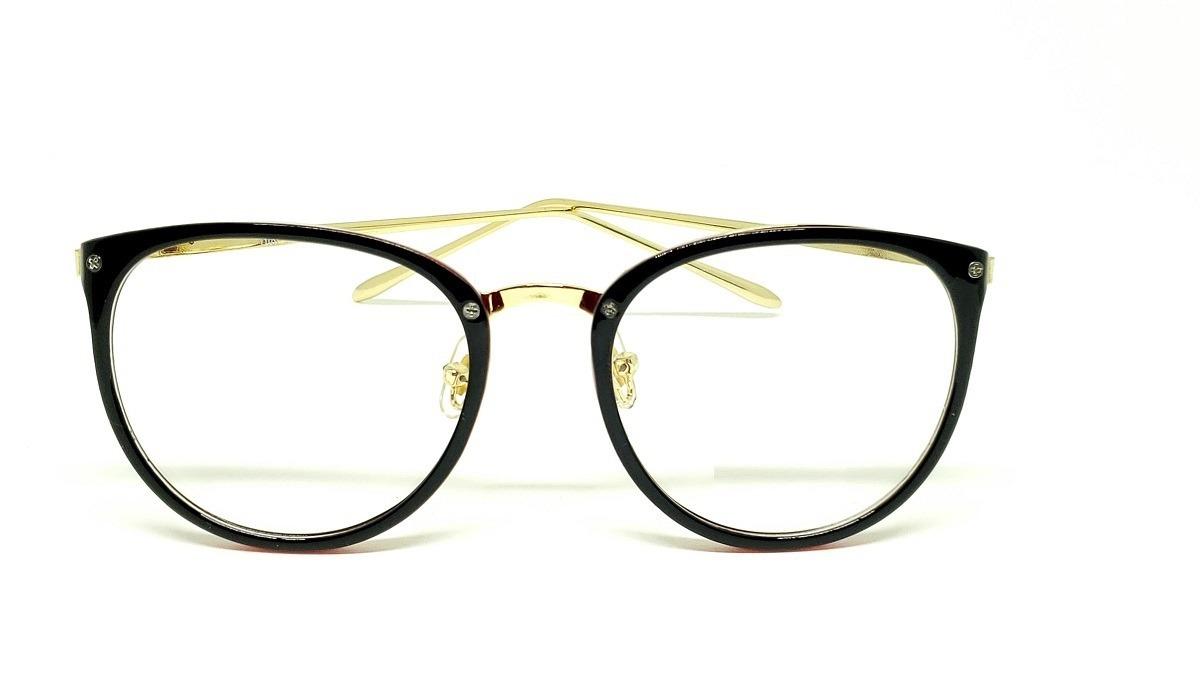 5a361cafe8df8 óculos armação de grau feminino redondo geek frete + brinde. Carregando zoom .