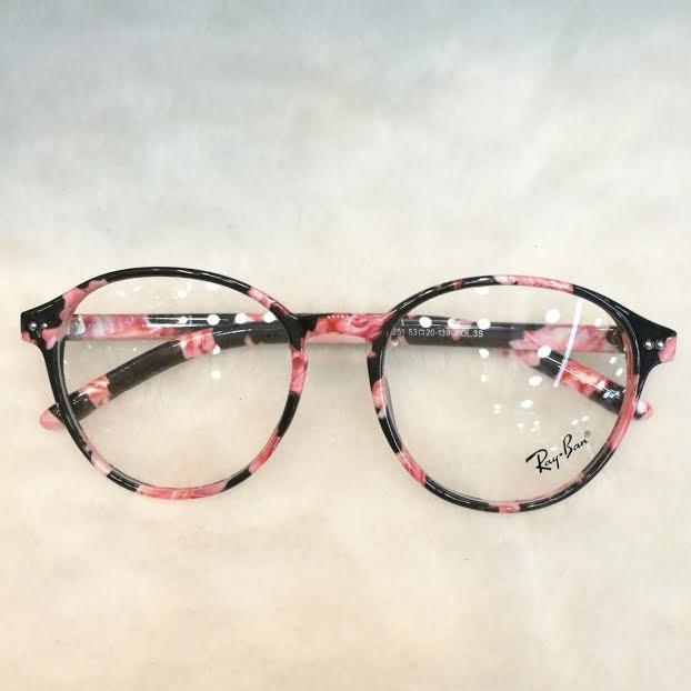 Óculos Armação De Grau Feminino Redondo Geek Metal C  Brinde - R ... 6aae614d86