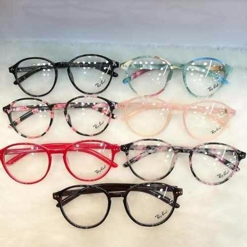 09a2c39591ada Óculos Armação De Grau Feminino Redondo Geek Metal C  Brinde - R  99 ...