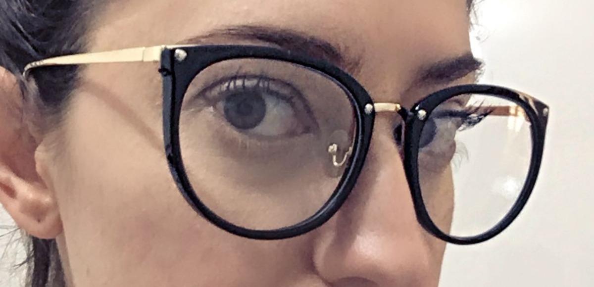 0c3eb37350f63 óculos armação de grau feminino redondo geek metal c  brinde. Carregando  zoom.