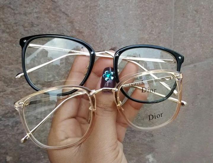 03df543b61647 Óculos Armação De Grau Feminino Redondo Geek Metal C  Brinde - R ...