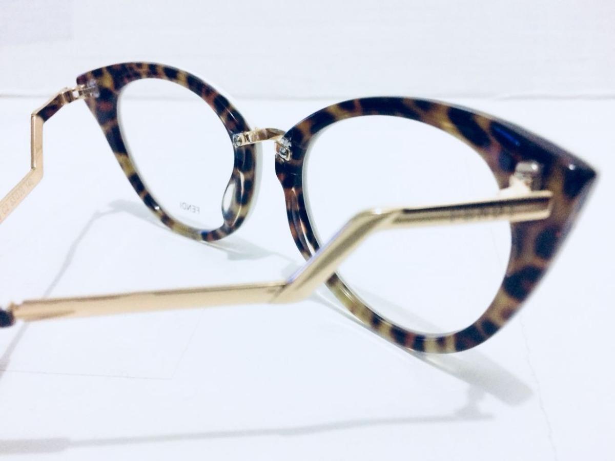 óculos armação de grau fendi branco envio imediato -fe101. Carregando zoom. baf7375799