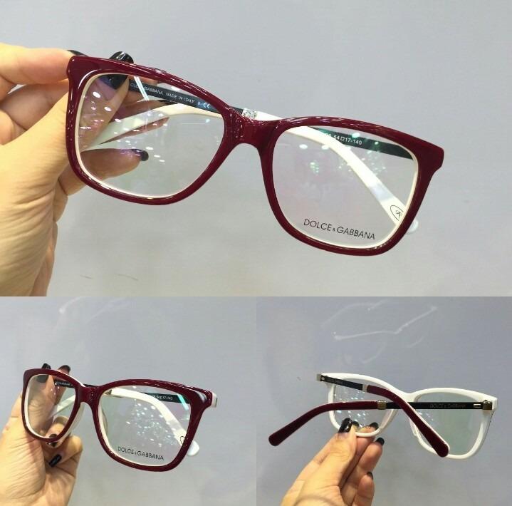 Óculos Armação De Grau Gatinho Acetato Frete + Brinde - R  120,00 em ... aa19bec38b