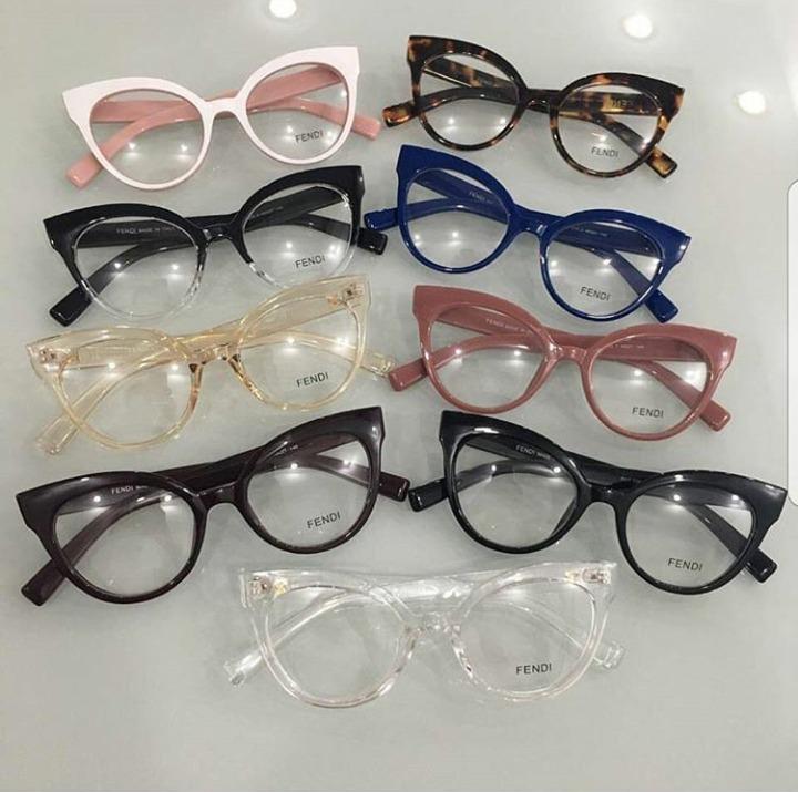 ad45f9b5e Óculos Armação De Grau Gatinho Acetato Geek Fnd Frete+brinde - R ...