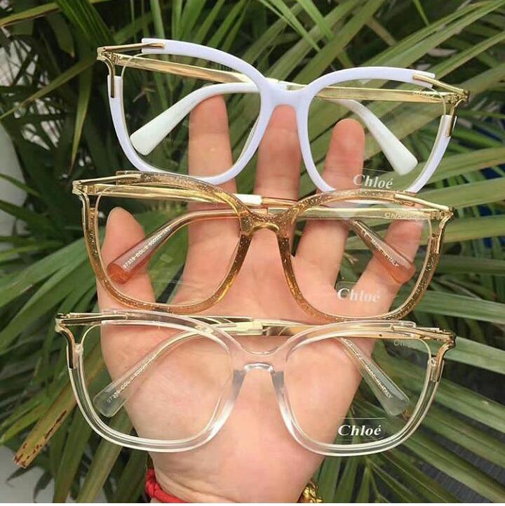 Óculos Armação De Grau Gatinho Geek Feminino Detalhe Metal - R  99 ... 00272a9529