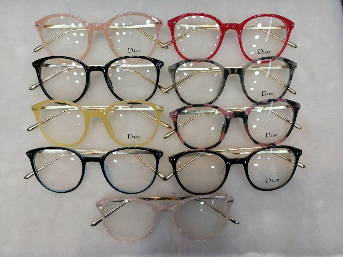óculos armação de grau gatinho redondo geek frete + brinde. Carregando zoom. ee90104a5a