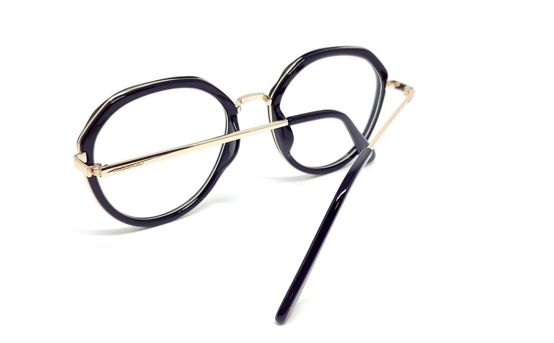 a8f69f5cf34fc Óculos Armação De Grau Geek Redondo Metal + Brinde Psg-11042 - R  99 ...