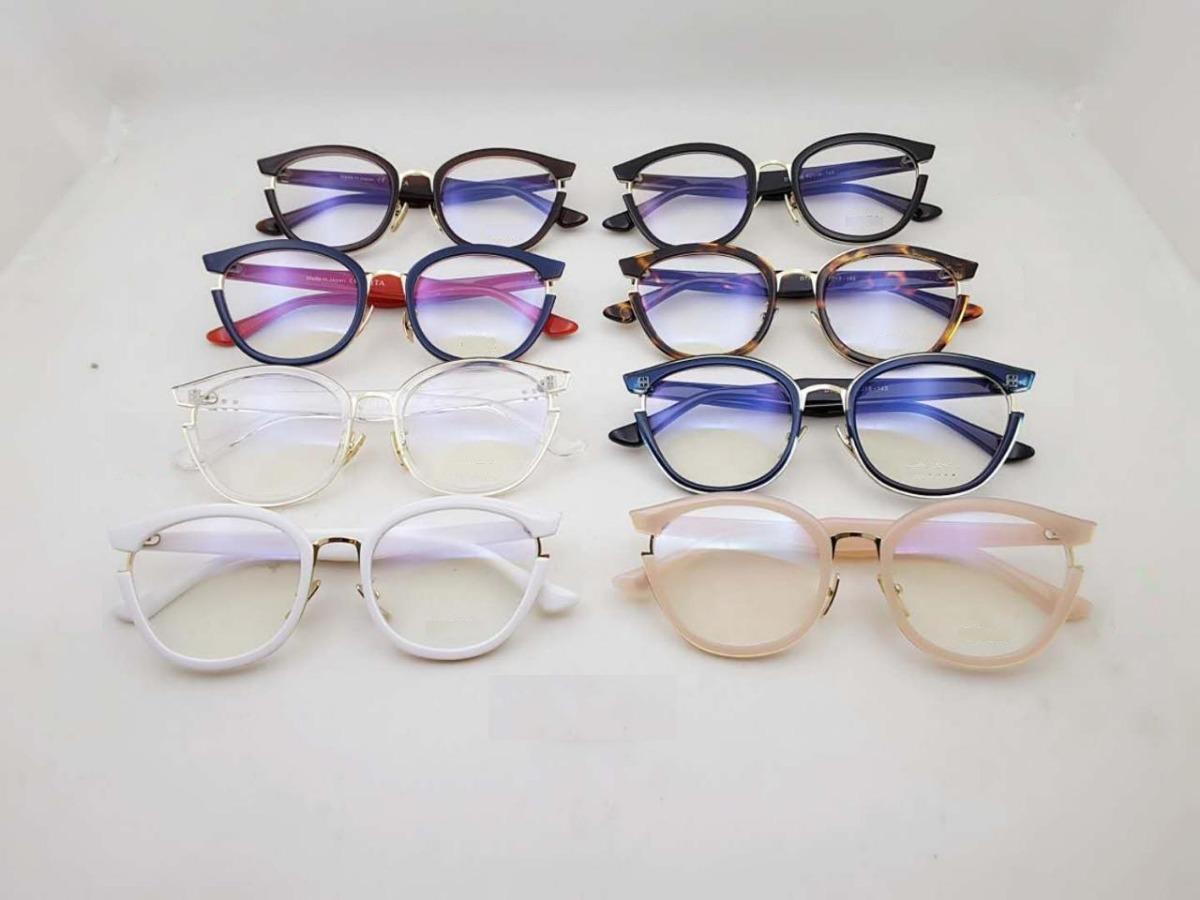 óculos armação de grau geek retro redondo gatinho + brinde. Carregando zoom. 8d6dc789c8