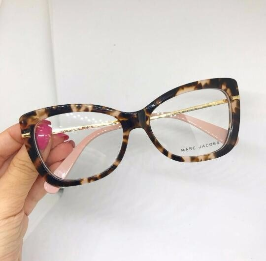 Oculos Armação De Grau Marc Jacobs Gatinho Acetato - R  129,90 em Mercado  Livre 654ae8602a