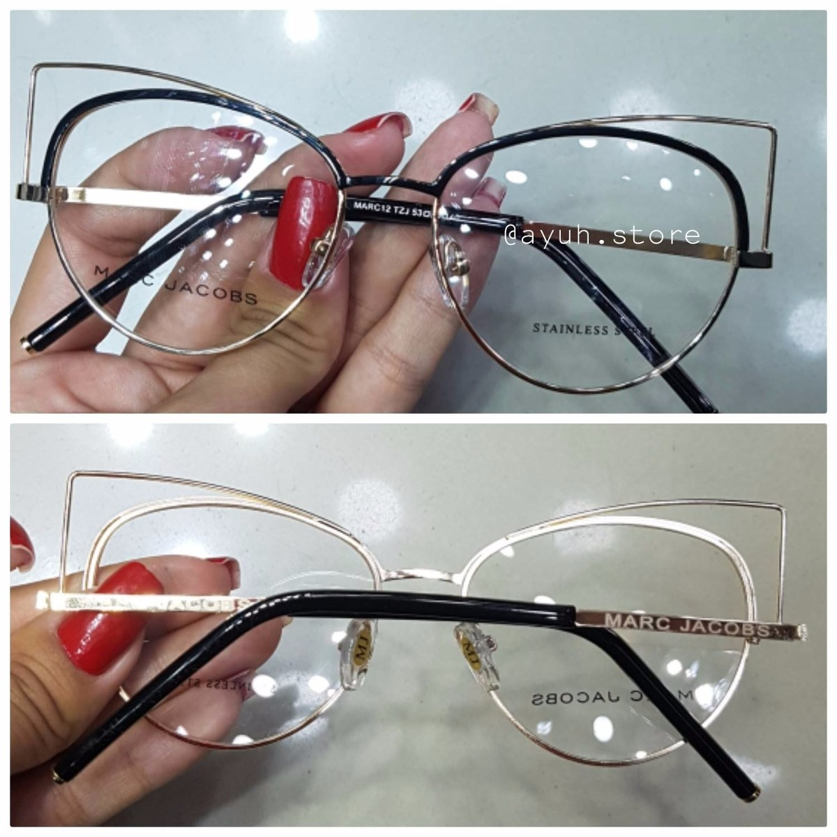 oculos armação de grau marc jacobs mulher metal gatinho. Carregando zoom. da15bee933