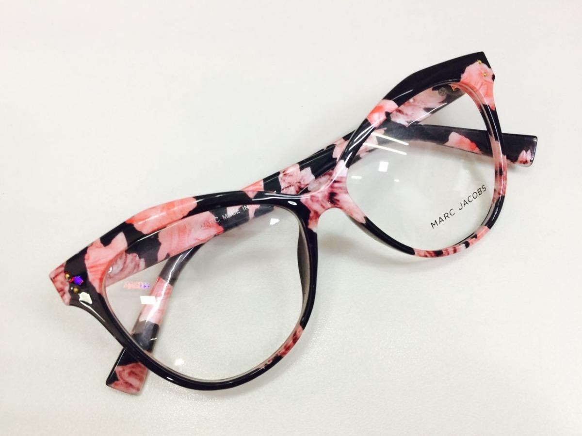 980de742596ca oculos armação de grau marc jacobs pedrita em acetato - moda. Carregando  zoom.