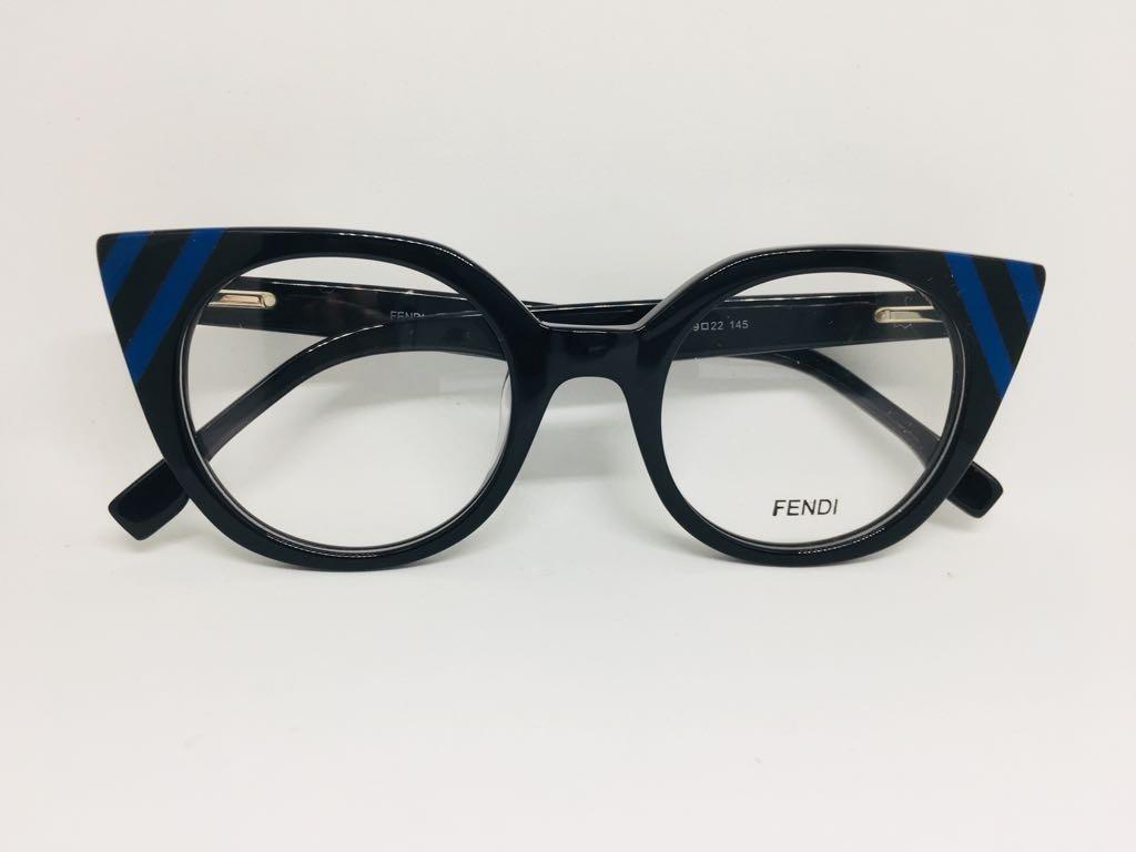 695ae1aaee299 oculos armação de grau preto fendi gatinho envio imediato. Carregando zoom.