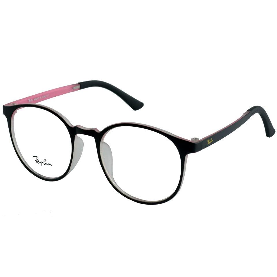 b3d28f0d8 óculos armação de grau rayban retro redondo preto feminino. Carregando zoom.