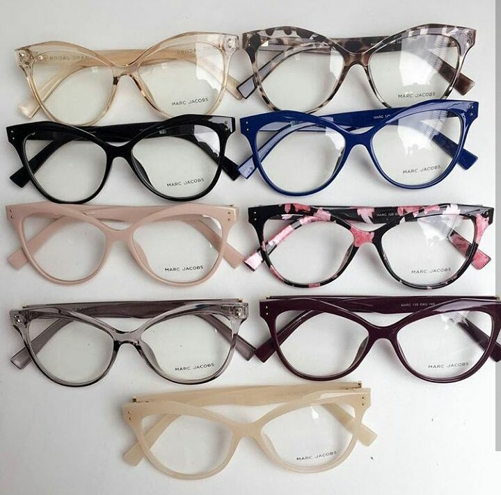 Óculos Armação De Grau Redondo Gatinho Geek Com Brinde - R  99,00 em ... b1557621ef