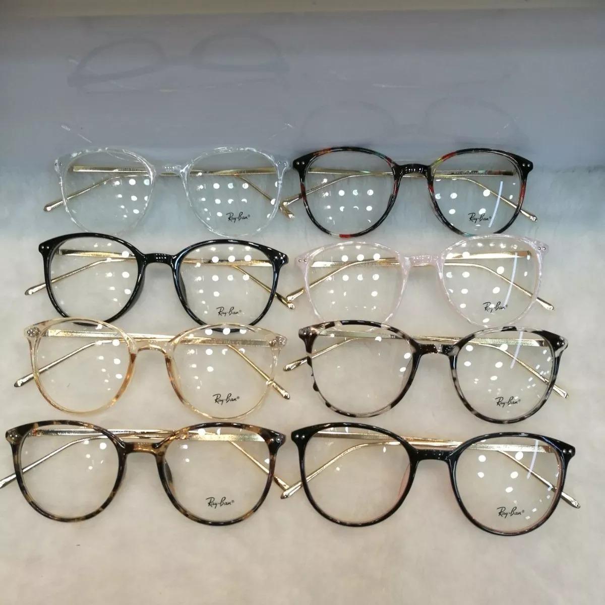 Óculos Armação De Grau Redondo Geek Metal - R  49,00 em Mercado Livre 6d9f37e312