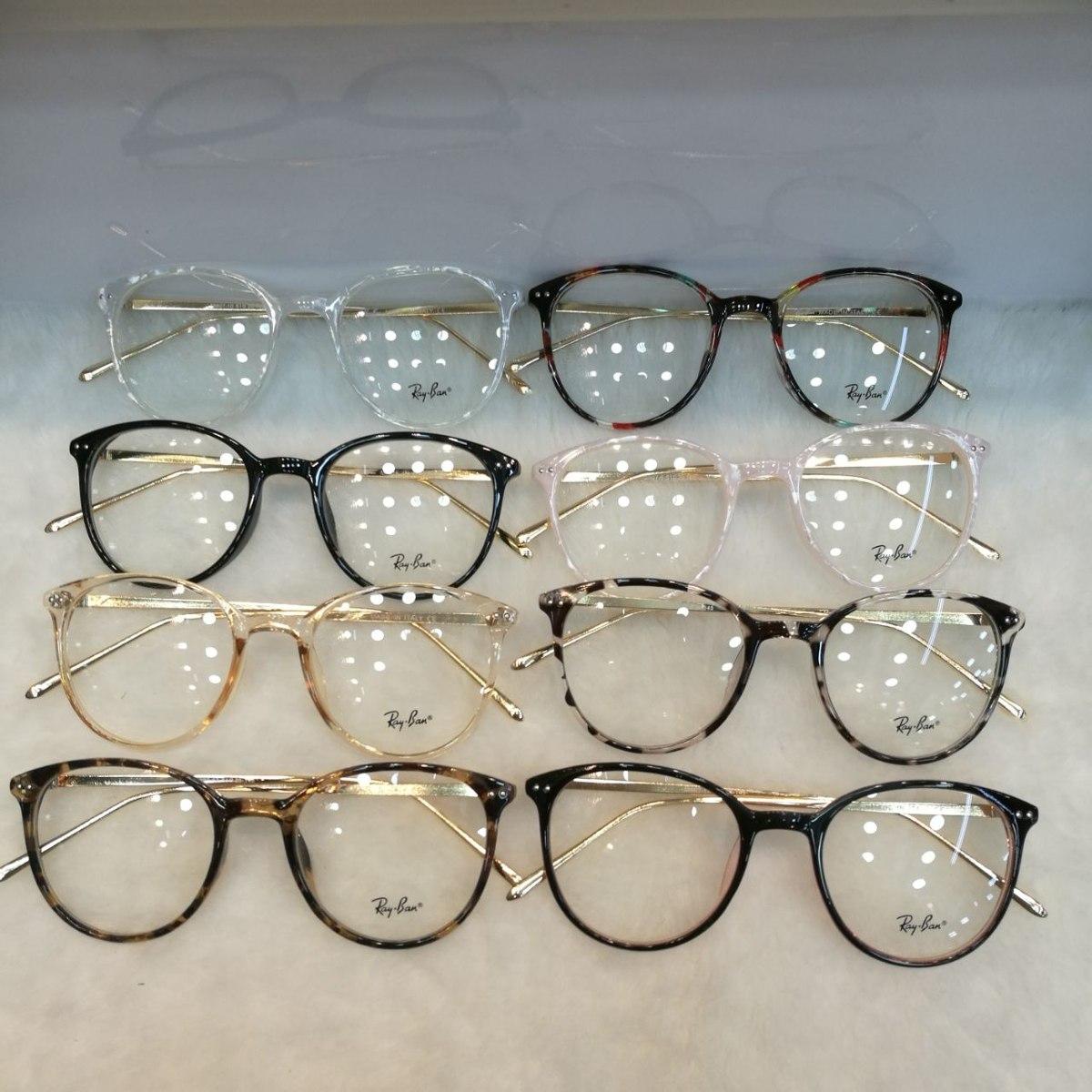 f0b429f8729a6 Óculos Armação De Grau Redondo Geek Metal Frete + Brinde. Óculos Armação De  Grau. Armação Oculos Grau Cartier Dourada Meio Aro Acetato