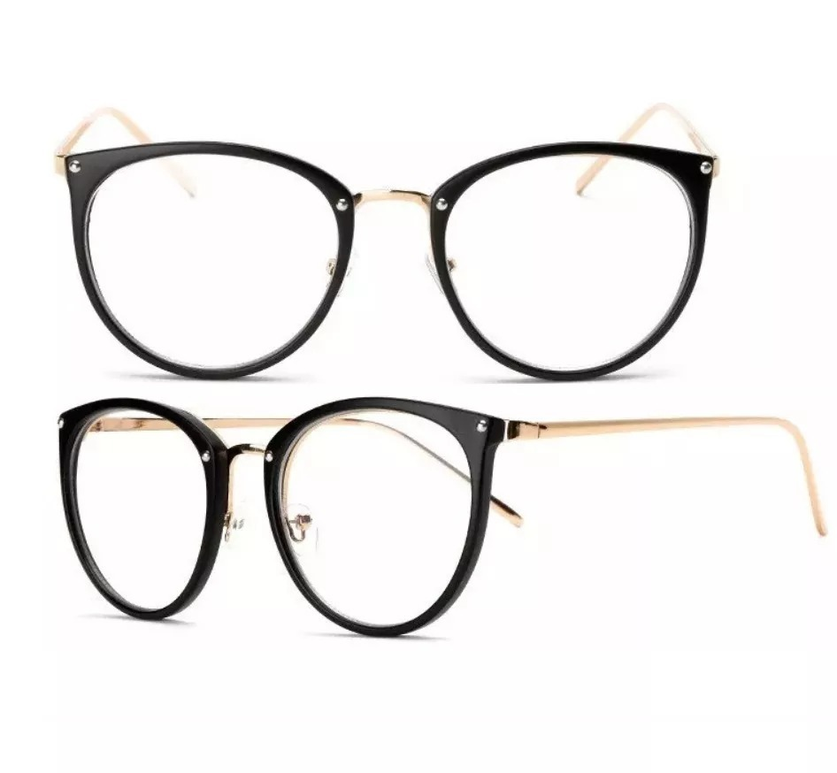 86af3ba14c228 óculos armação de grau redondo geek metal oferta varias cor. Carregando  zoom.