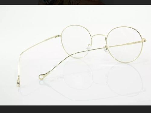 Óculos Armação De Grau Redondo Vintage Round Geek Unissex - R  59,00 ... 99b1c72f02