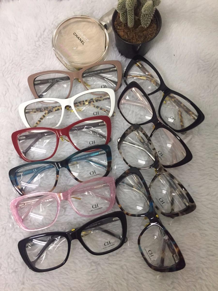 óculos armação de grau retangular gatinho acetato c  frete. Carregando zoom. 1e30e730c4
