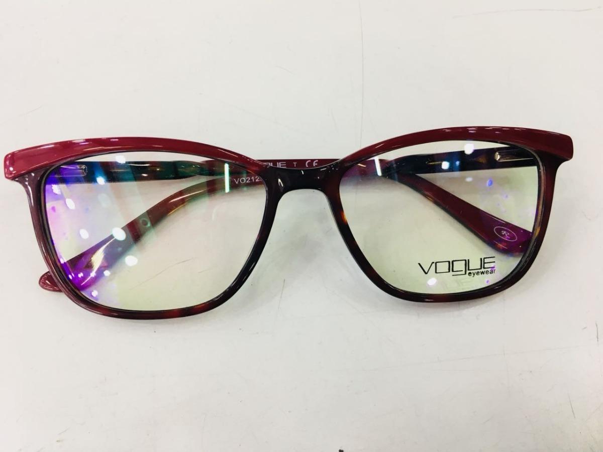 ffa6342889238 óculos armação de grau vogue grife entrega imedata -vg100. Carregando zoom.