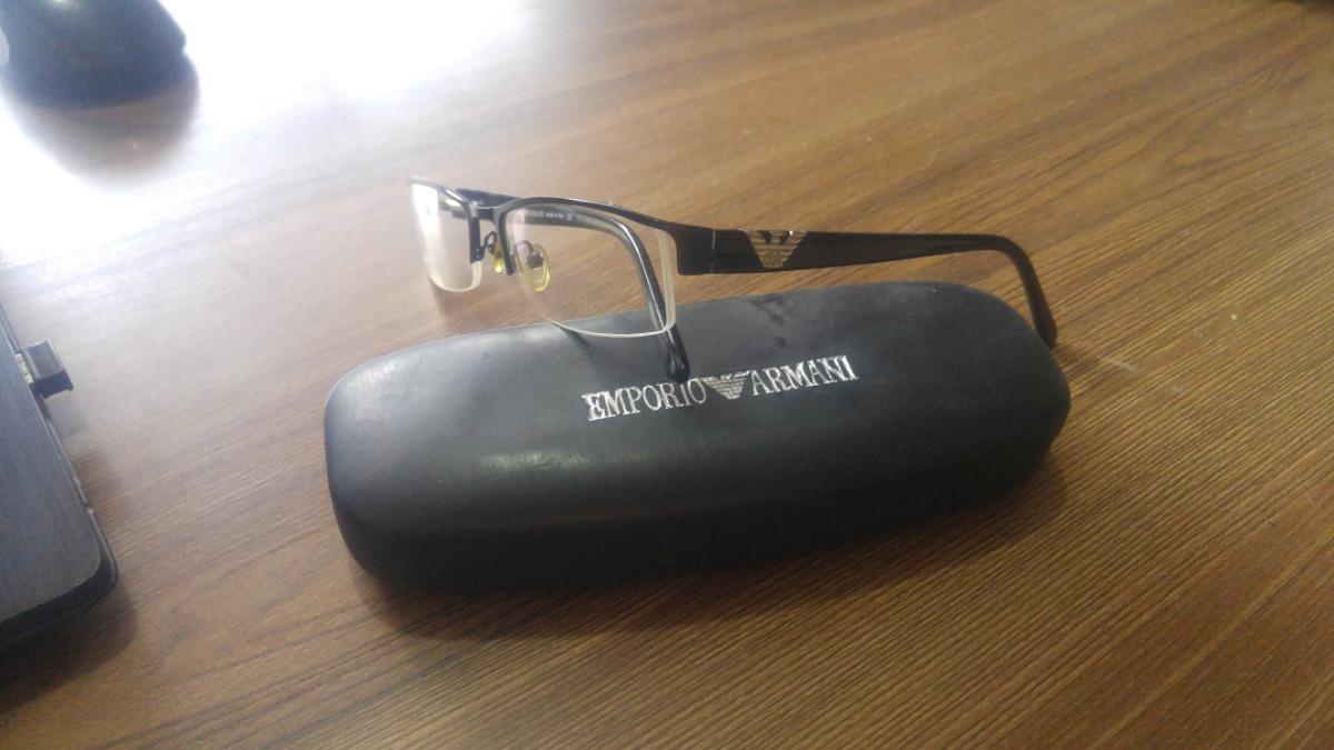 c4a73189d2a35 Óculos Armação Empório Armani Ea 6817 Original - R  250,00 em ...
