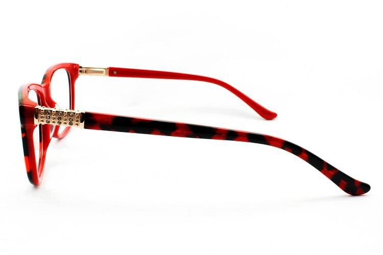 049090f9bbb17 Óculos Armação Feminina Para Grau - Frete Gratis - R  95,00 em ...