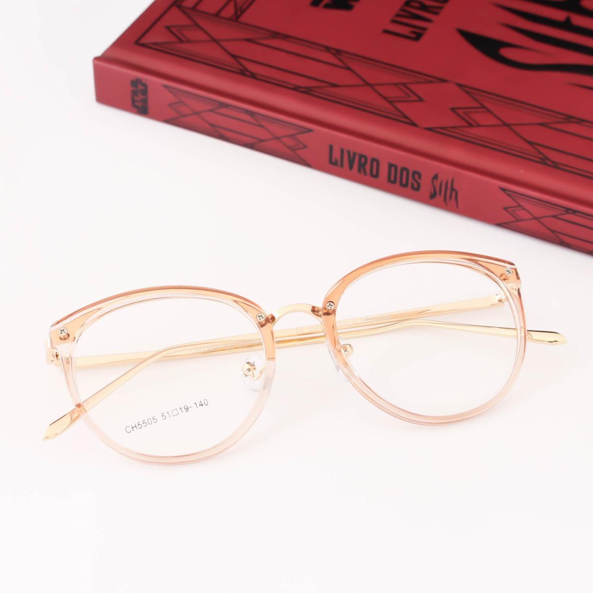 Óculos Armação Gatinho Vintage Transparente - R  59,00 em Mercado Livre 8e009a9a85